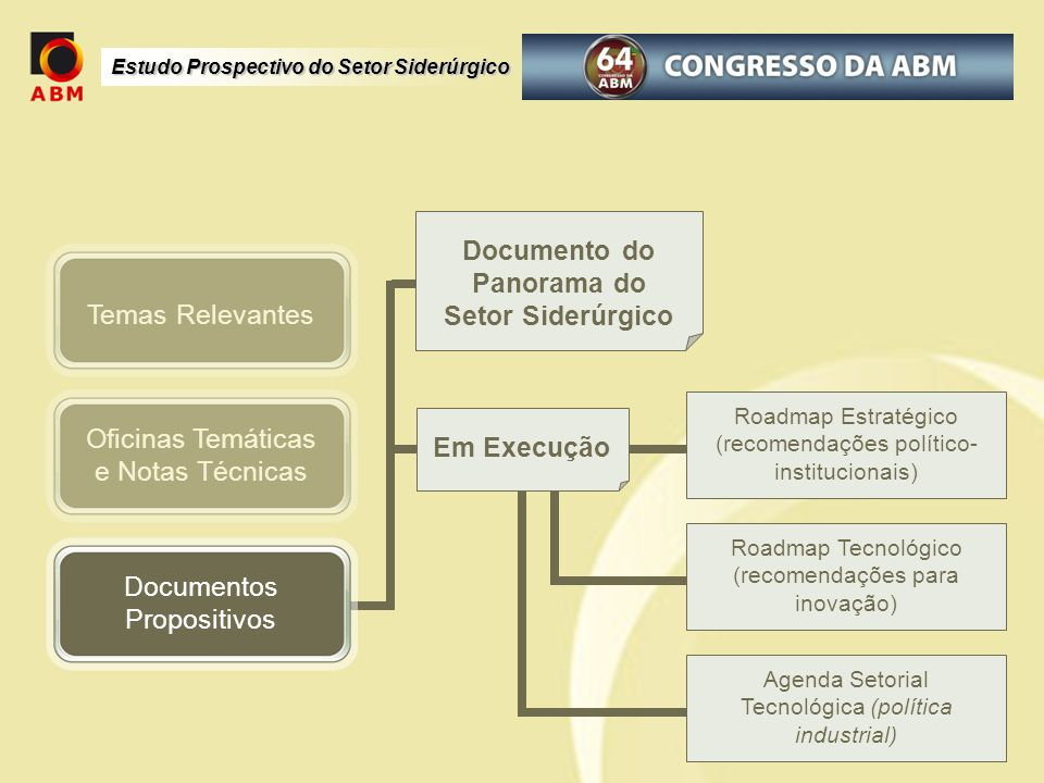 Documento do Panorama do Setor Siderúrgico