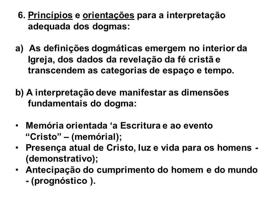 6. Princípios e orientações para a interpretação