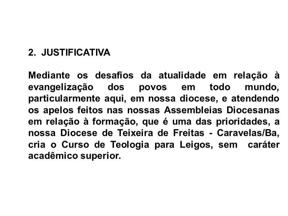 2. JUSTIFICATIVA
