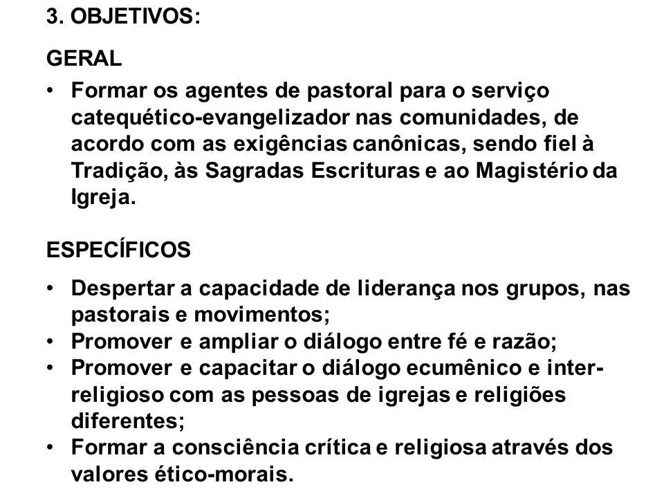 Promover e ampliar o diálogo entre fé e razão;