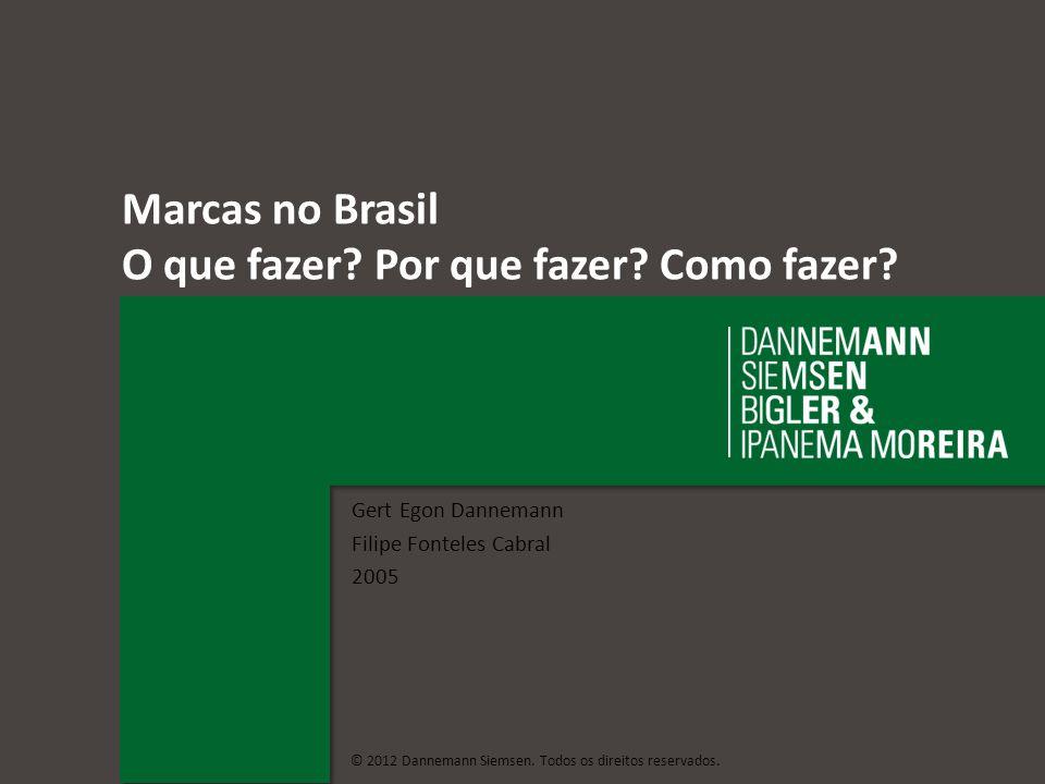 Marcas no Brasil O que fazer Por que fazer Como fazer