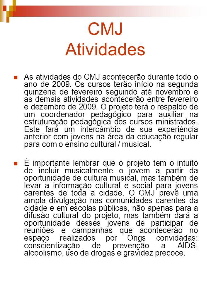 CMJ Atividades