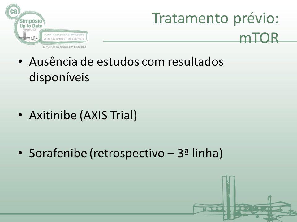 Tratamento prévio: mTOR