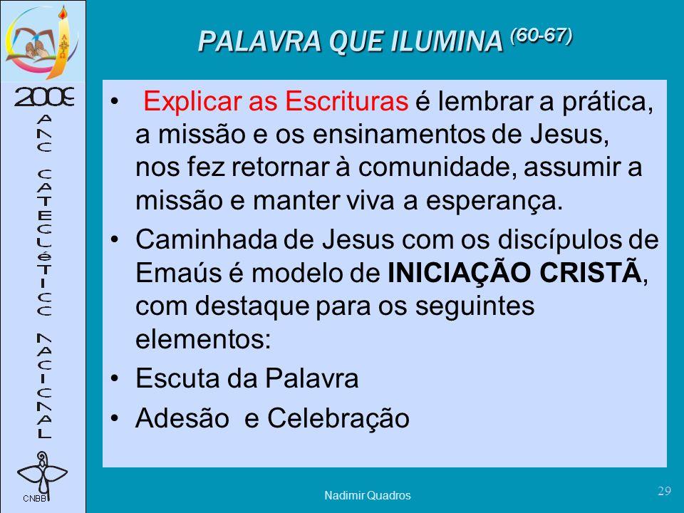 PALAVRA QUE ILUMINA (60-67)