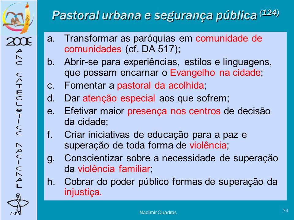 Pastoral urbana e segurança pública (124)