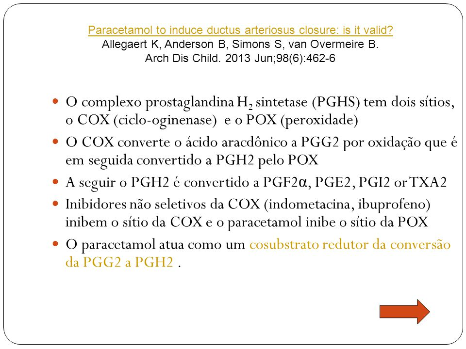 A seguir o PGH2 é convertido a PGF2α, PGE2, PGI2 or TXA2