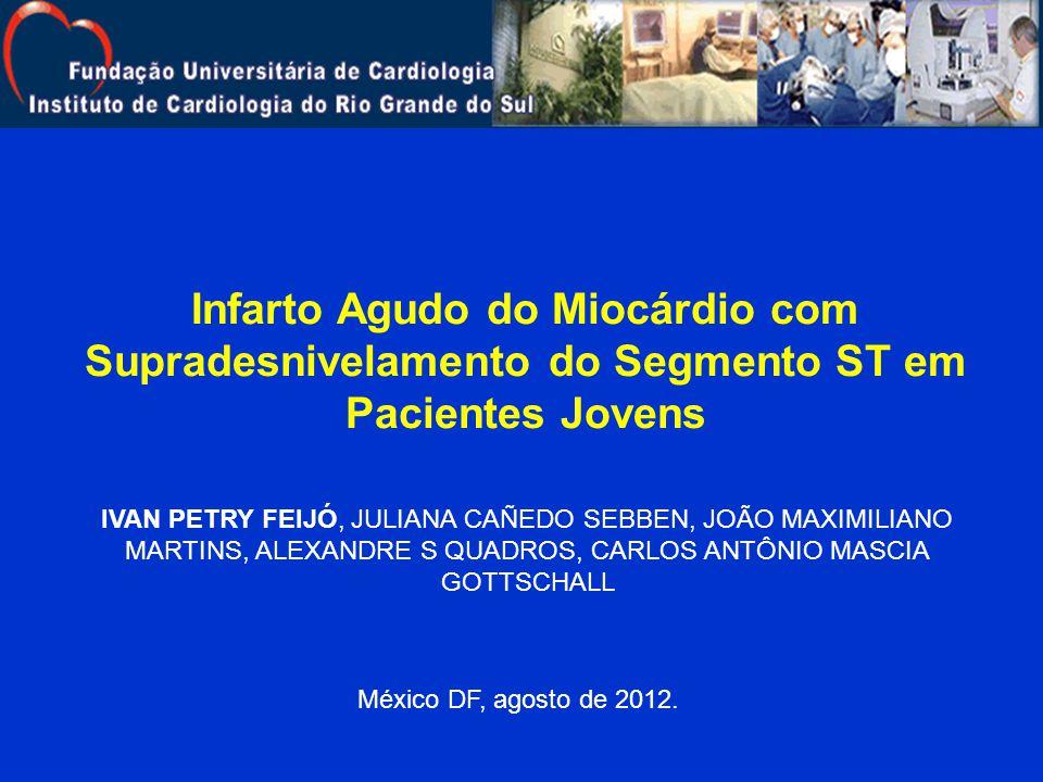 Infarto Agudo do Miocárdio com Supradesnivelamento do Segmento ST em Pacientes Jovens