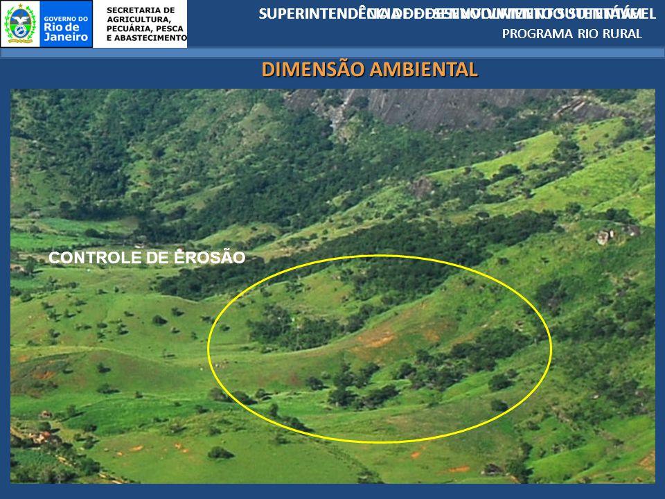 DIMENSÃO AMBIENTAL SUPERINTENDÊCIA DE DESENVOLVIMENTO SUTENTÁVEL