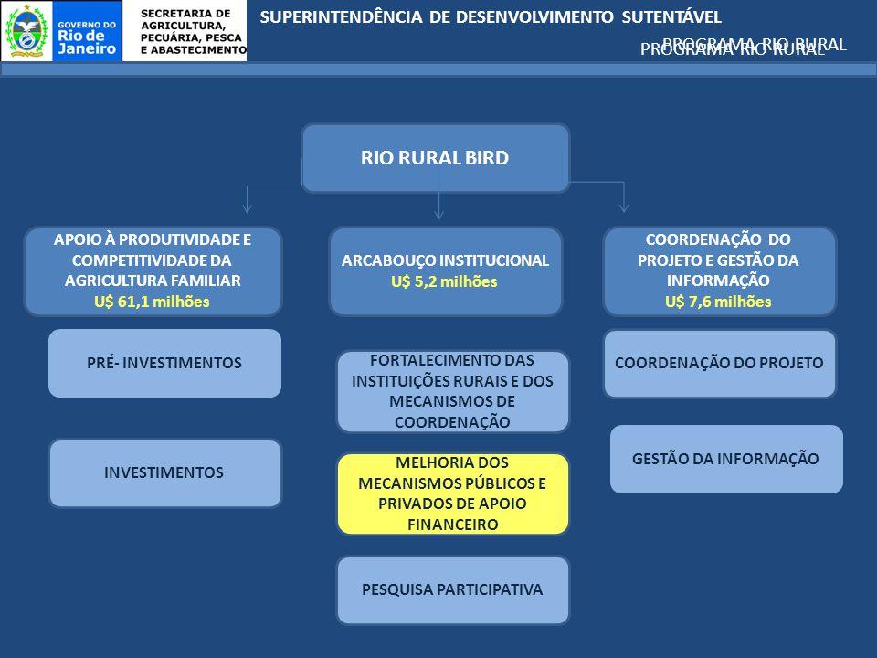 RIO RURAL BIRD PROGRAMA RIO RURAL