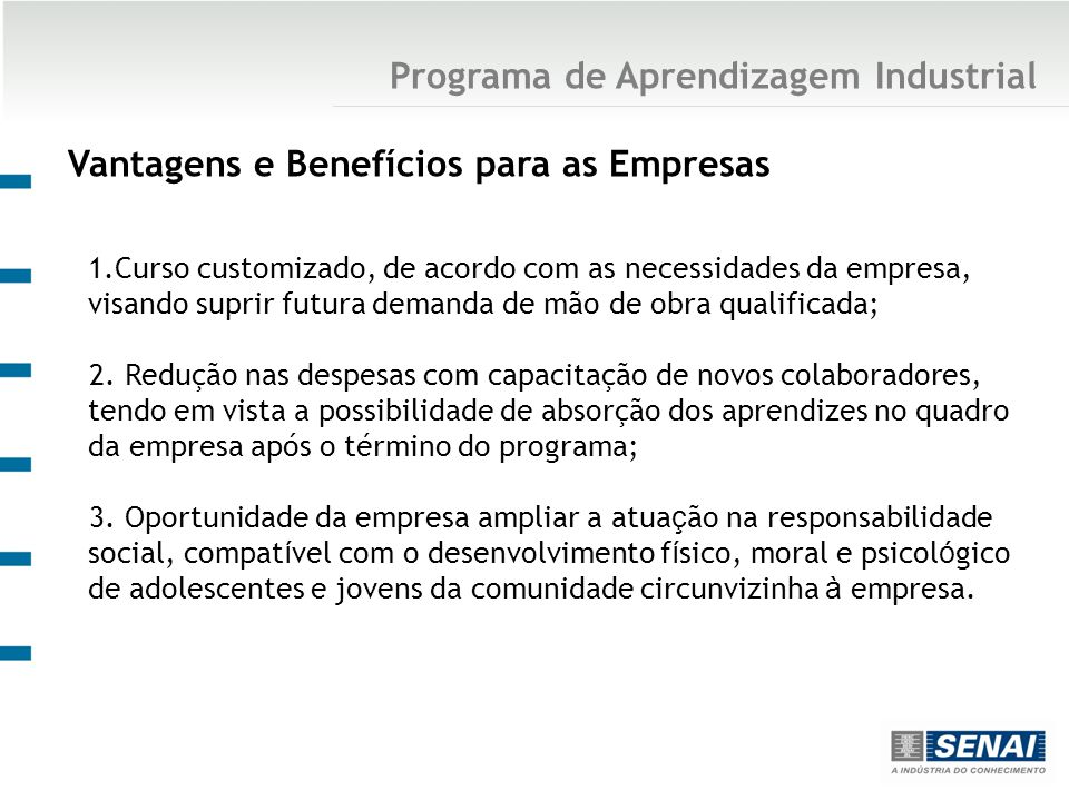 Programa de Aprendizagem Industrial