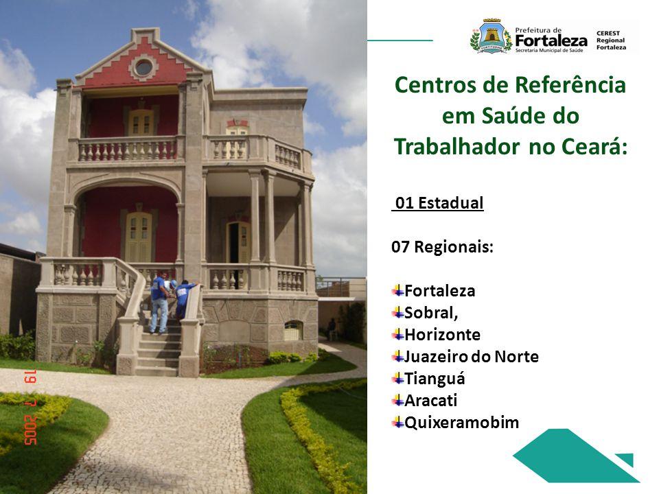 Centros de Referência em Saúde do Trabalhador no Ceará:
