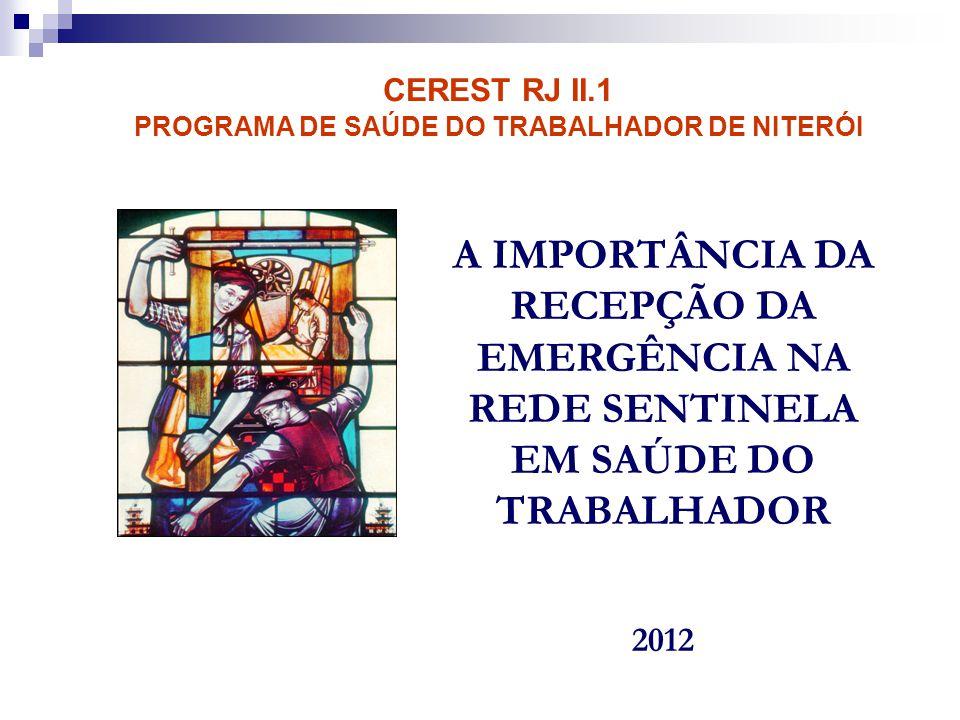 PROGRAMA DE SAÚDE DO TRABALHADOR DE NITERÓI