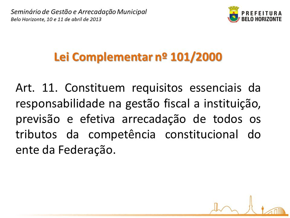 Lei Complementar nº 101/2000