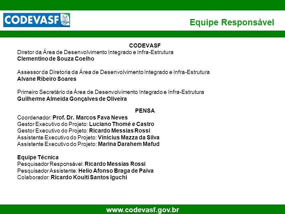 Equipe Responsável CODEVASF