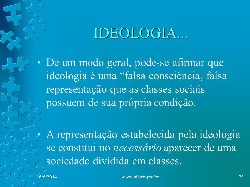 IDEOLOGIA...