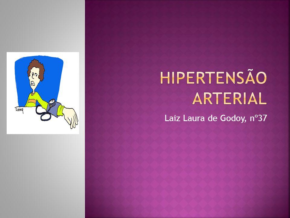 Hipertensão arterial Laiz Laura de Godoy, nº37