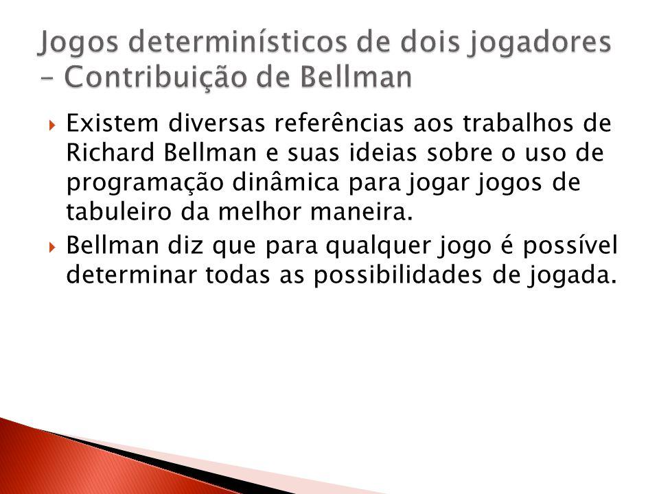 Jogos determinísticos de dois jogadores – Contribuição de Bellman