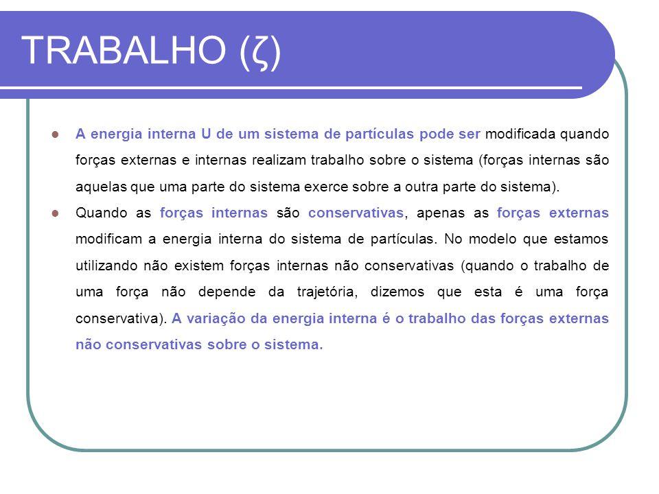 TRABALHO (ζ)