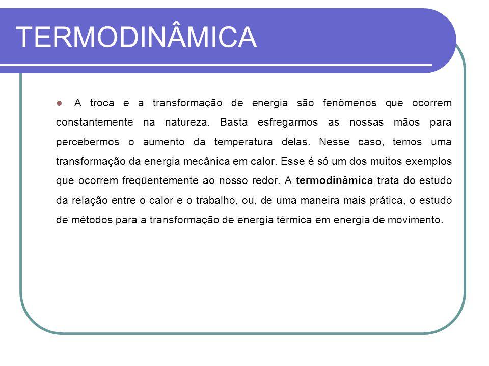 TERMODINÂMICA