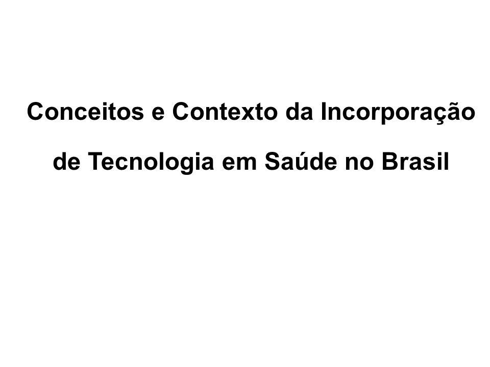 CONCEITO DE TECNOLOGIA EM SAÚDE