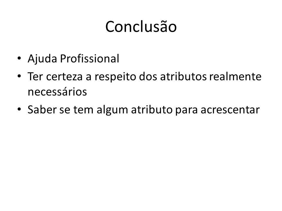Conclusão Ajuda Profissional