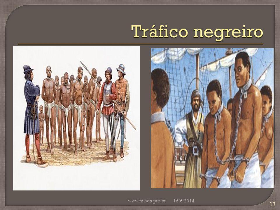 Tráfico negreiro www.nilson.pro.br 02/04/2017