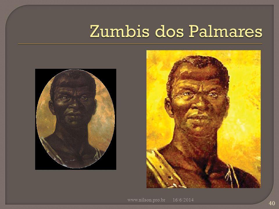 Zumbis dos Palmares www.nilson.pro.br 02/04/2017