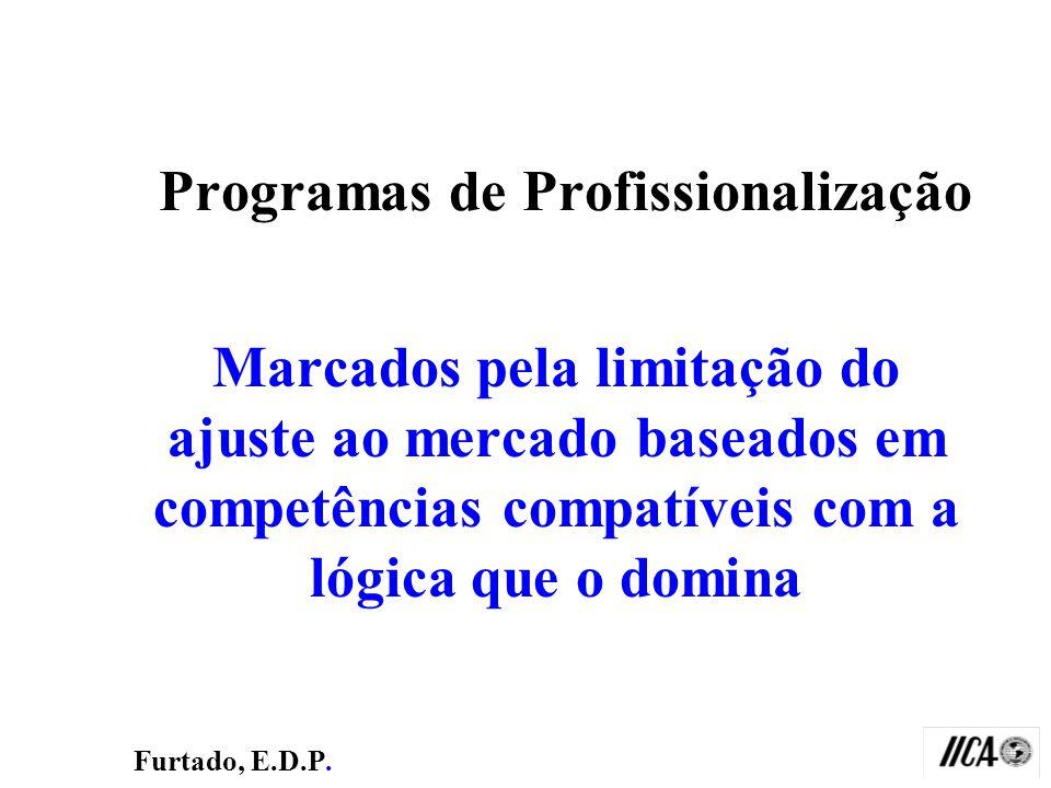Programas de Profissionalização