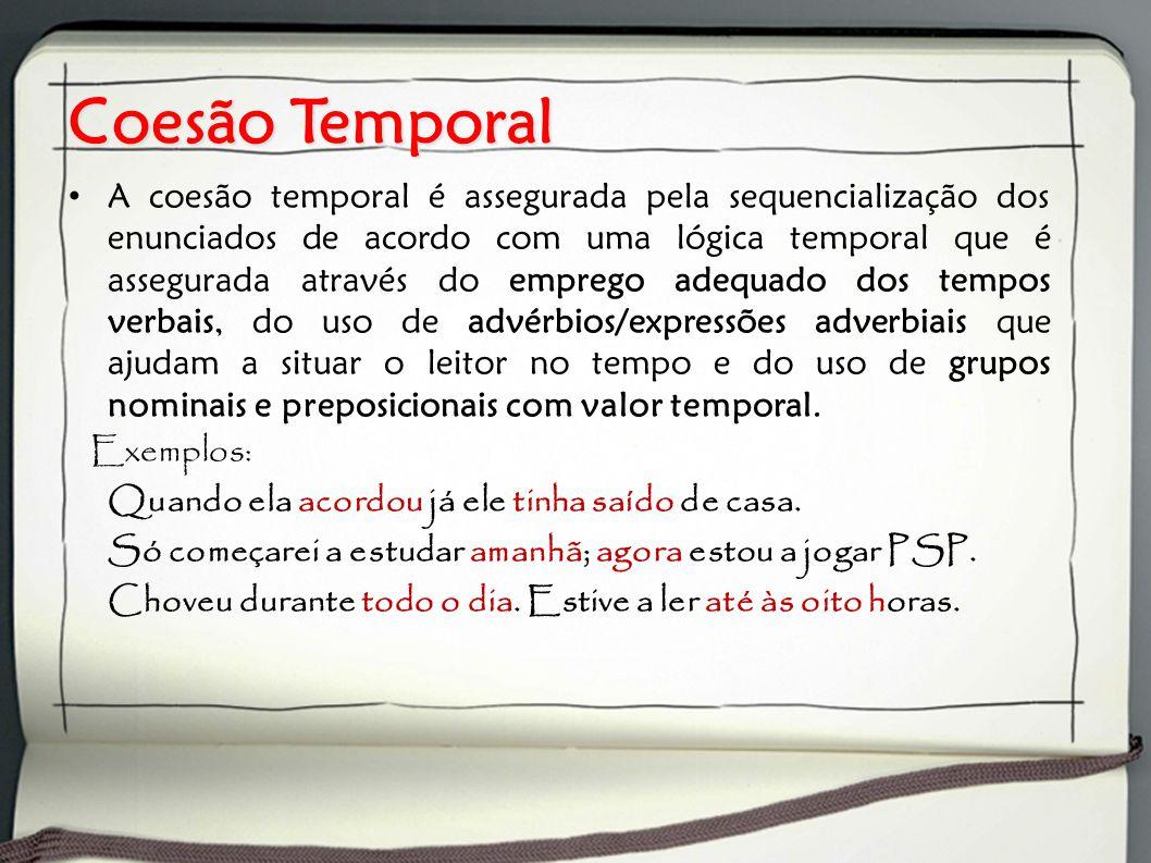 Coesão Temporal