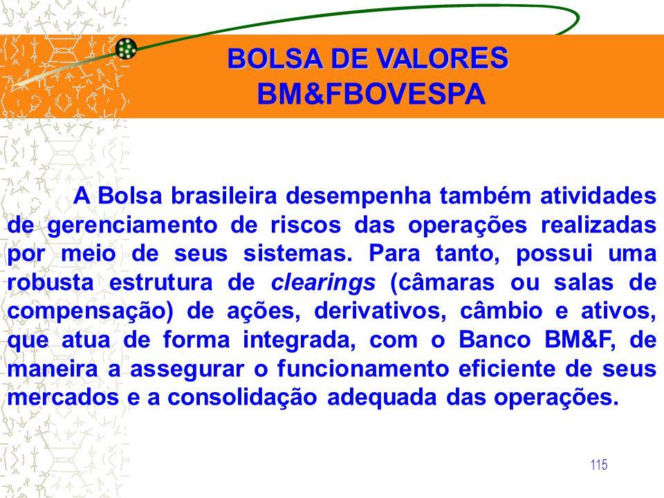 BM&FBOVESPA BOLSA DE VALORES