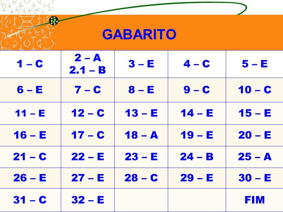 1 – C 2 – A 2.1 – B 3 – E 4 – C 5 – E 6 – E 7 – C 8 – E 9 – C 10 – C