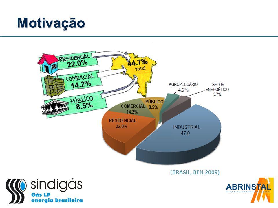 Motivação (BRASIL, BEN 2009)