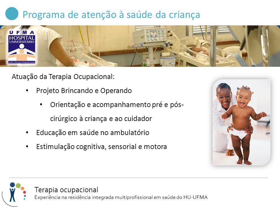 Programa de atenção à saúde da criança