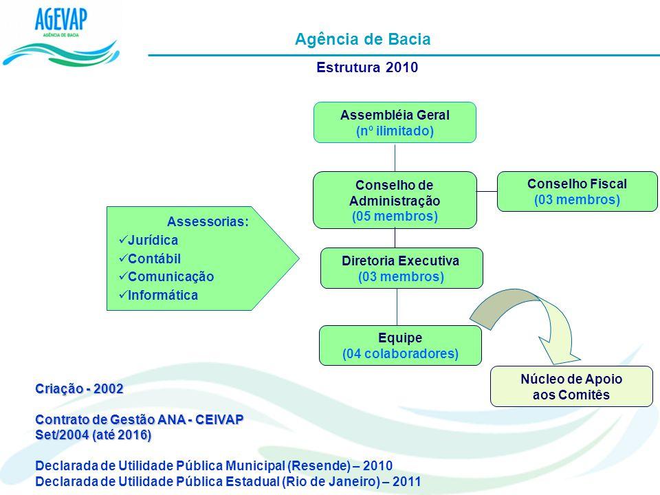 Agência de Bacia Estrutura 2010 Assembléia Geral (nº ilimitado)