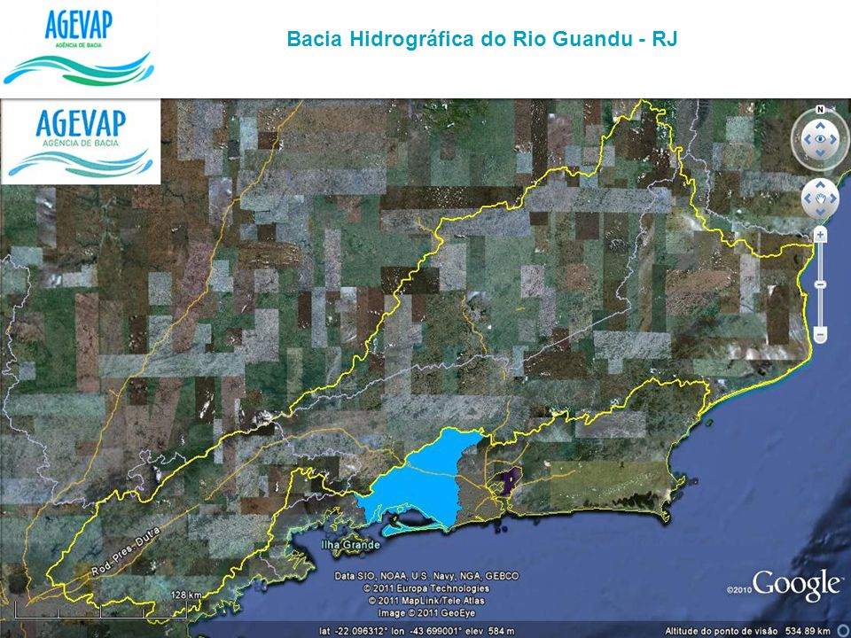 Bacia Hidrográfica do Rio Guandu - RJ