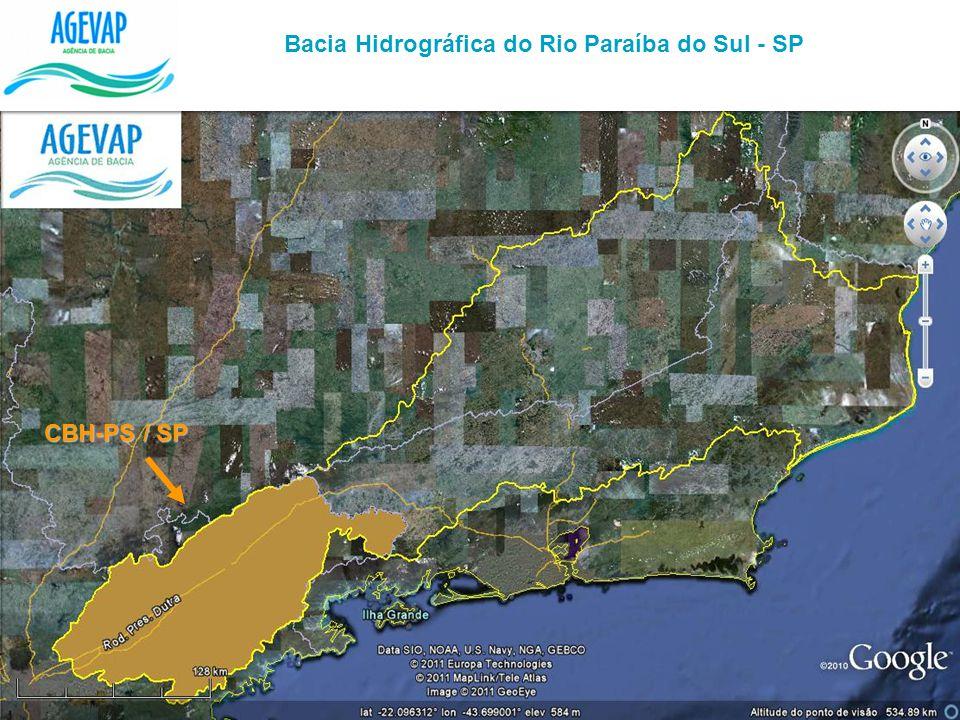 Bacia Hidrográfica do Rio Paraíba do Sul - SP