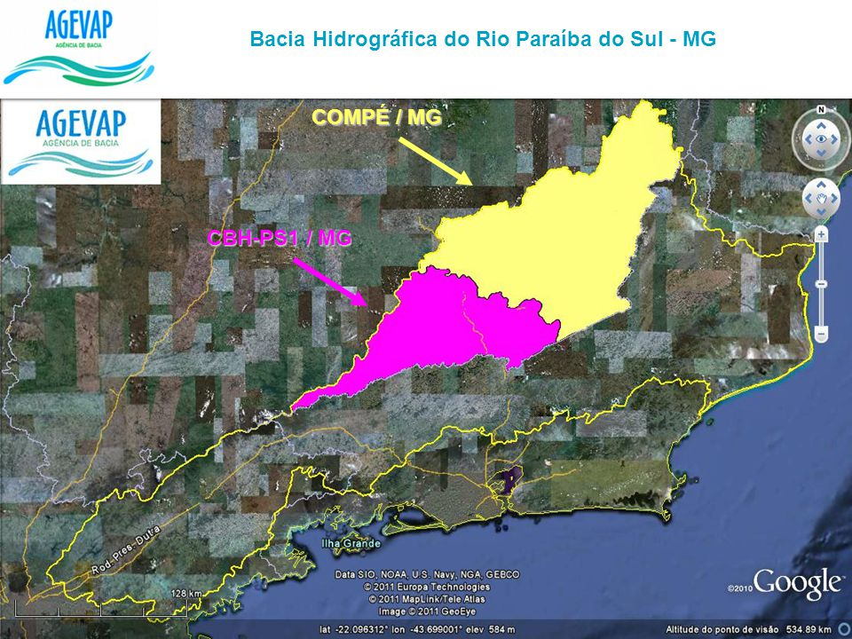 Bacia Hidrográfica do Rio Paraíba do Sul - MG