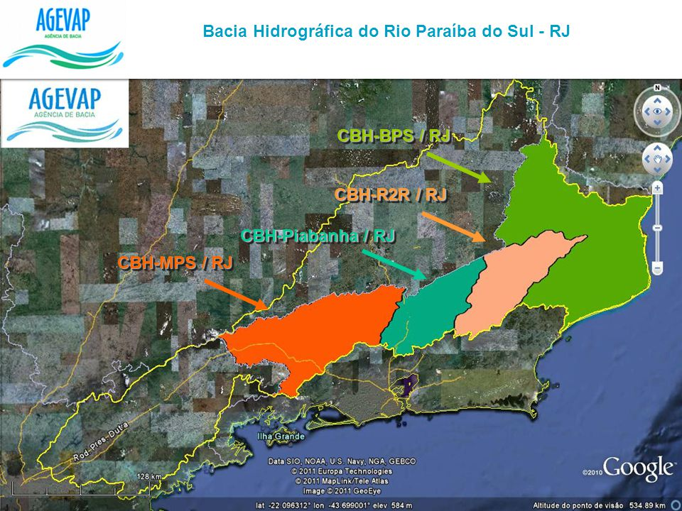 Bacia Hidrográfica do Rio Paraíba do Sul - RJ
