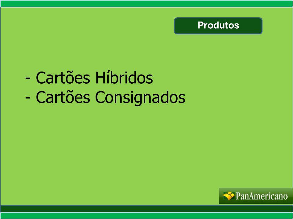 Produtos - Cartões Híbridos - Cartões Consignados