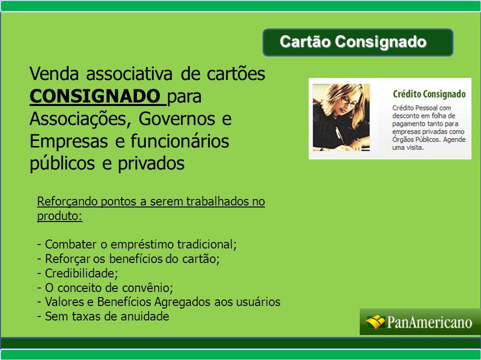 Cartão Consignado Venda associativa de cartões CONSIGNADO para Associações, Governos e Empresas e funcionários públicos e privados.