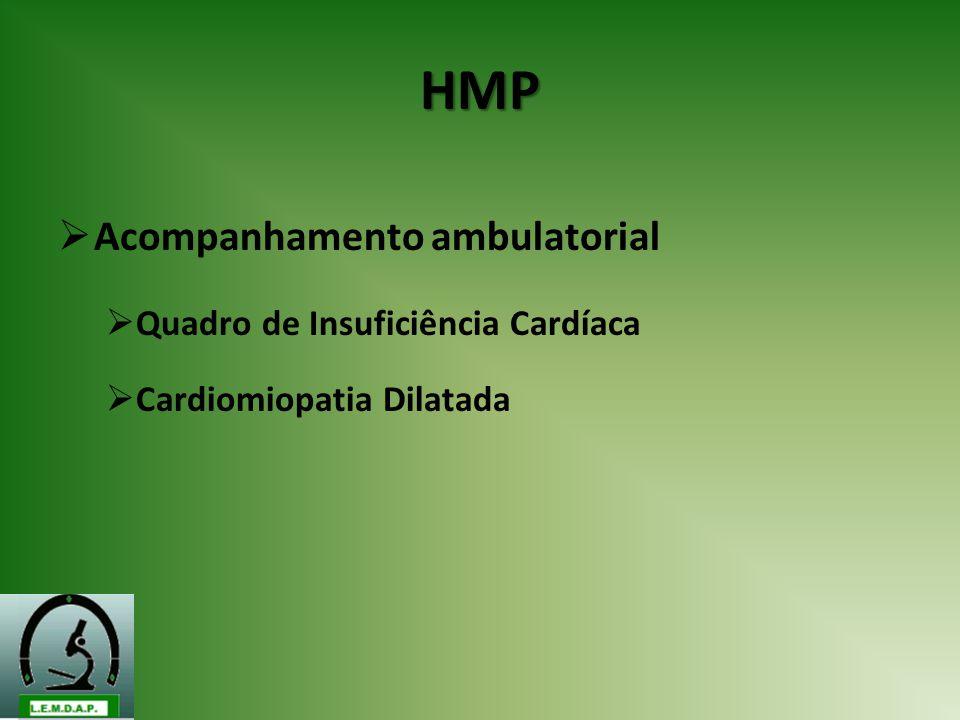 HMP Acompanhamento ambulatorial Quadro de Insuficiência Cardíaca