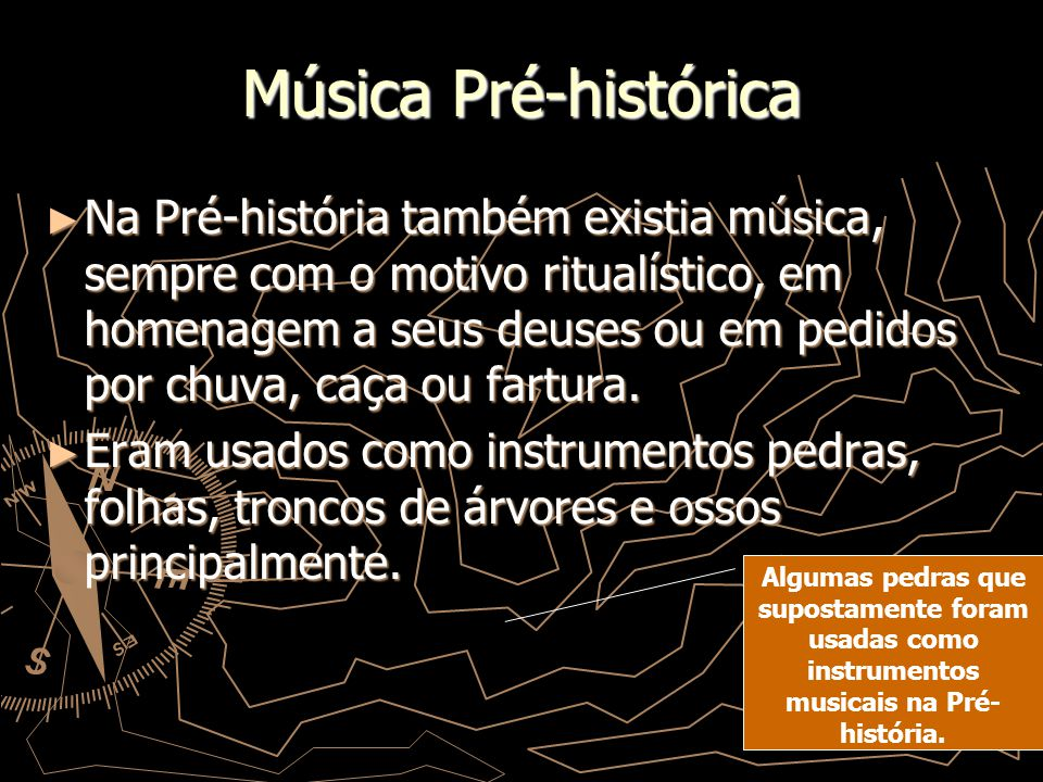 Música Pré-histórica