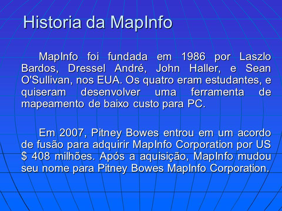 Historia da MapInfo