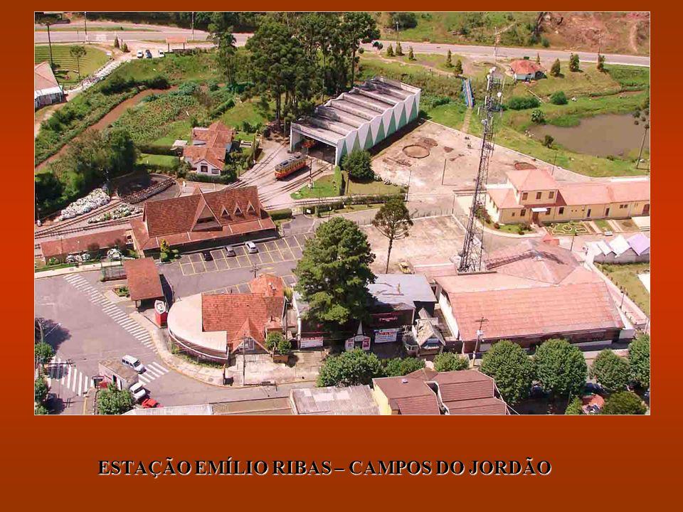 ESTAÇÃO EMÍLIO RIBAS – CAMPOS DO JORDÃO