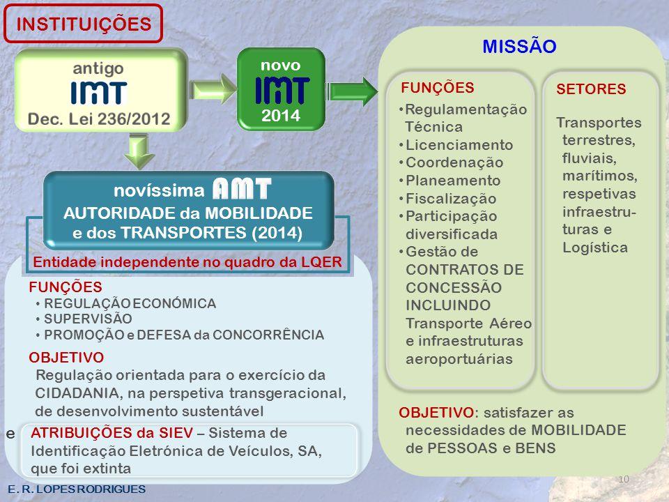 AUTORIDADE da MOBILIDADE e dos TRANSPORTES (2014)