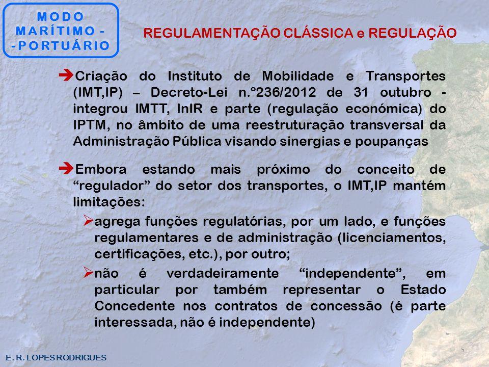 REGULAMENTAÇÃO CLÁSSICA e REGULAÇÃO