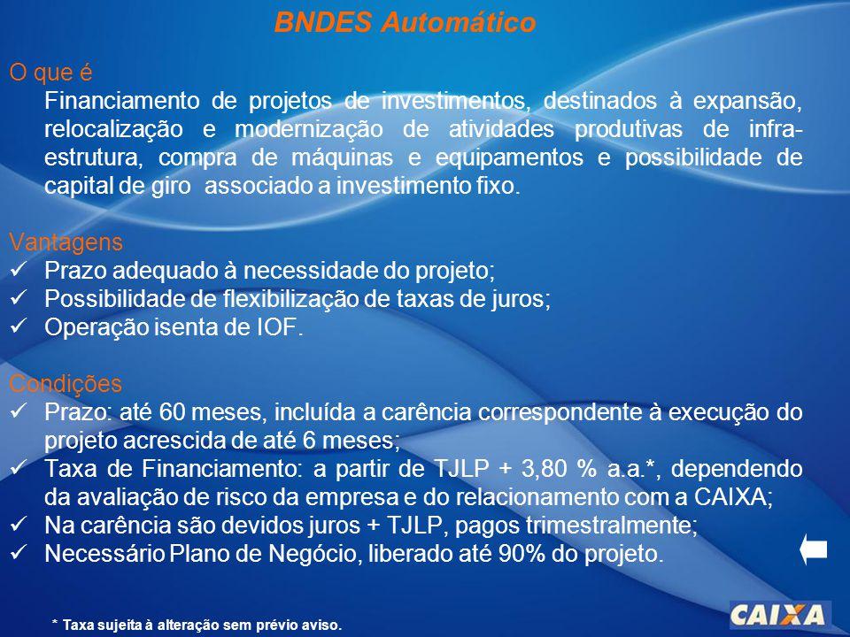 BNDES Automático O que é