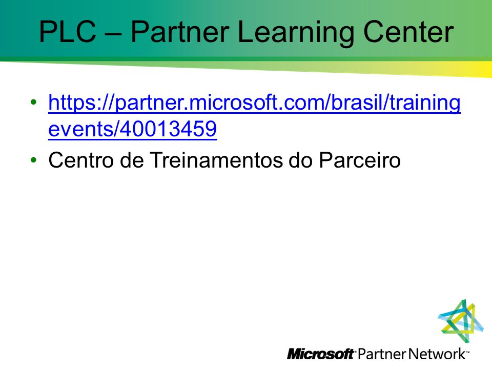 PLC – Partner Learning Center