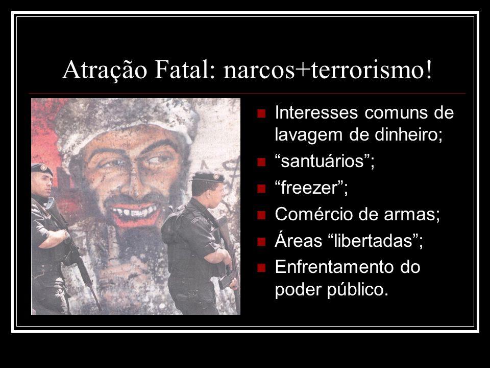 Atração Fatal: narcos+terrorismo!