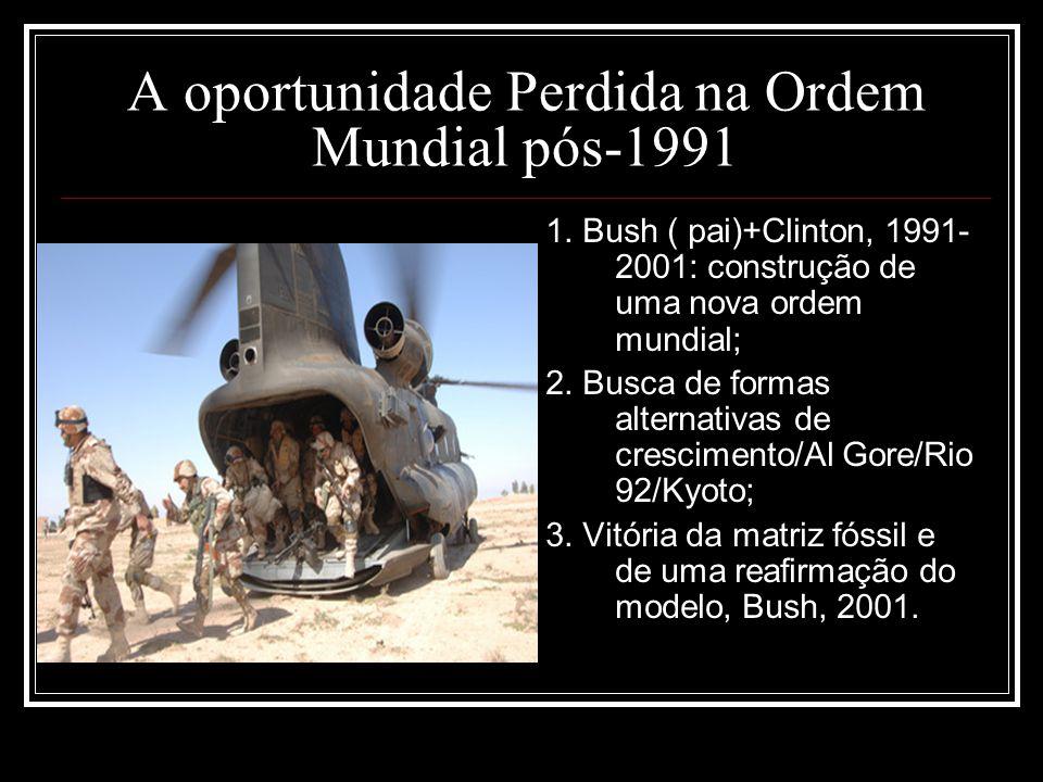 A oportunidade Perdida na Ordem Mundial pós-1991